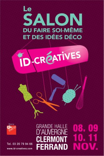 Salon id créative Clermont-Ferrand